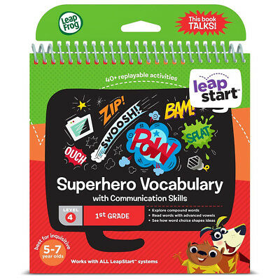 LeapFrog LeapStart Superhero Vocabulary Activity Book Primary School