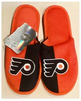 Philadelphia Flyers NHL Ice Hockey Dual Jersey Colours Slippers : Medium
