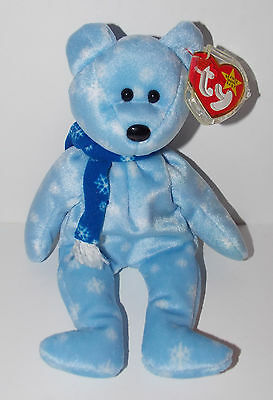 Ty Beanie Baby 1999 Holiday Teddy Bear Plush 9in Stuffed Animal Retired with Tag