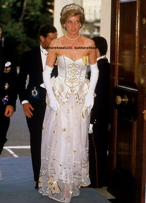 PRINCESS DIANA PHOTO 5X7 Lady Di Royal Collectibles London England Free Shipping