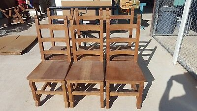 Mesquite Chairs natural mesquite unfinished rustic