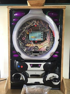 """Back to the Future"" Pachinko Japanese Arcade Machine with 100s of Balls & Frame"