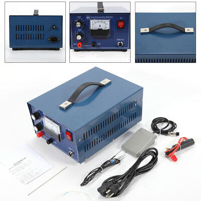 Electric Jewelry Welding Machine Spot Welder 400W Gold Silver Platinum 0.5-50A