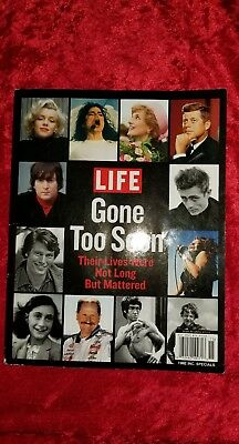 2011 Life Magazine Gone Too Soon: Their Lives Were Not Long But Mattered
