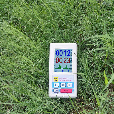 Geiger Counter Nuclear Radiation Detector Tester Beta Gamma X-ray Dosimeter Tool