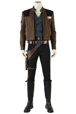 A Star Wars Story Cosplay Costume Han Solo Cosplay Outfit Fancy Dress Halloween