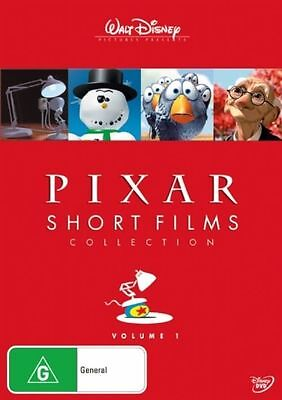 Disney Pixar Short Films Collection DVD New Sealed Australia Region 4