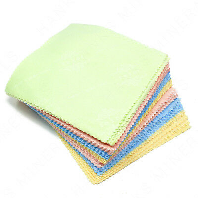 100x Microfiber Cloth Cleaning Screen Camera Lens Phone Glasses