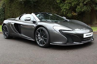 2016 McLaren 650S Spider with Carbon Fibre Racing Seats Petrol grey Semi Auto