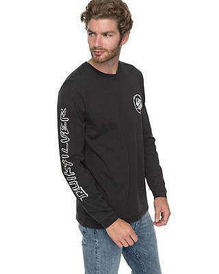 NEW QUIKSILVER™  Mens Critical Dates Long Sleeve T Shirt Tee Tops