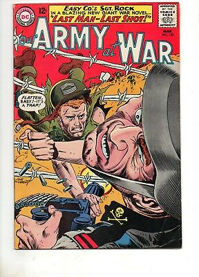 Our Army at War #152 4th ALL SGT. ROCK ISSUE! Fine+ 6.5 1965 JOE KUBERT ART!