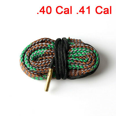 New .40 Cal .41 Cal Gauge Boresnake Bore Snake Cleaning Kit Brush  Pistol Rope