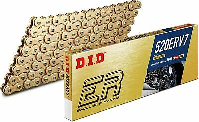 DID 520 Gold ERV3 X-Ring Race Track Bike Off Road Drive Chain Various Lengths