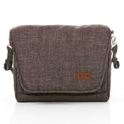 ABC Design Wickeltasche Baby Windeltasche Fashion mit Wickelauflage - Walnut