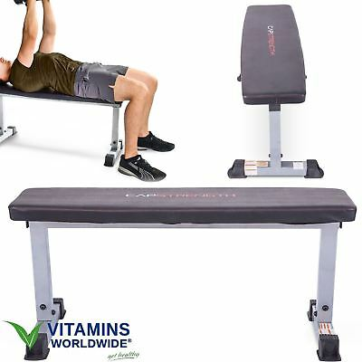 Peachy Flat Bench Sit Up Weight Lifting Fitness Ab Exercise Board Andrewgaddart Wooden Chair Designs For Living Room Andrewgaddartcom