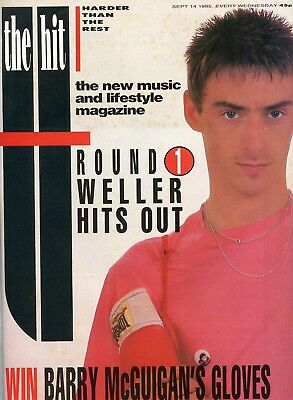 Vintage The Hit Music Mag 1985 - Paul Weller Simply Red Jesus and Mary Chain