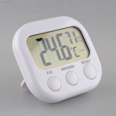 New 1PC Portable Hygrometer Thermo Hygro Thermometer LCD Display White TA66