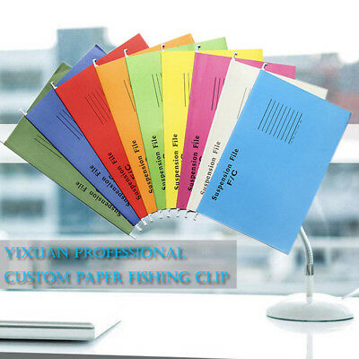 50x Suspension Files Foolscap Hanging File Folder Tab Filing Cabinet A4/FC Size