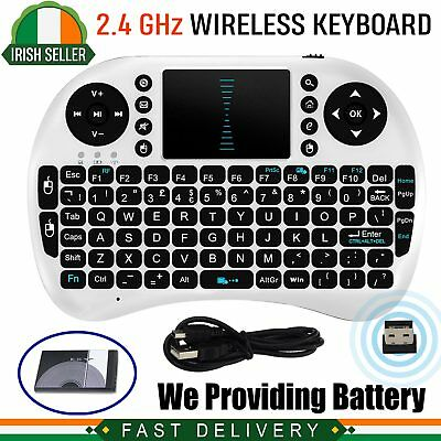 Mini Wireless Keyboard Touch Pad Mouse For TVBox PC Notebook Laptop SmartTV IR