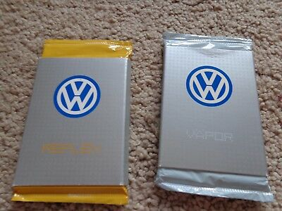 Volkswagen New Beetle RARE Limited Edition Cards from Reflex Yellow & Vapor Blue