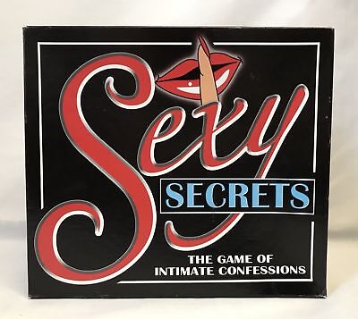Paul Lamond Games Sexy Secrets The Game of Intimate Confessions Free UK P&P