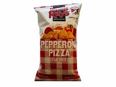 Uncle Ray´s Potato Chips- Pepperoni Pizza (120g) MHD: 24.09.2018