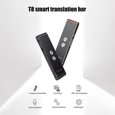 Portable Smart Voice Translator Two-Way Real Time 30+ Multi-Language Translation