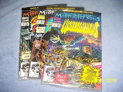 Rise Of The Midnight Sons 3 Part Of 6 Set And Factory Sealed Nm - Movie Soon