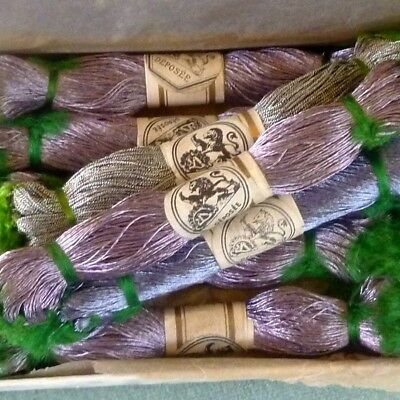 Antique French Metal Embroidery Threads