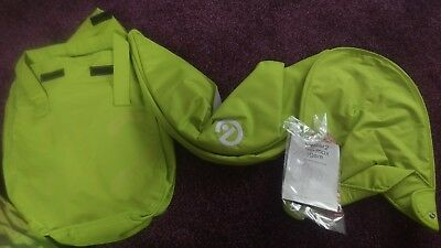 Oyster Max Oyster 2 And Oyster Gem Carrycot Colour Pack lime New Unused