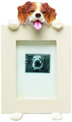 "Brittany Spaniel Picture Frame 2 1/2"" x 3 1/2"" E&S 35315-58 Small Dog Frame"