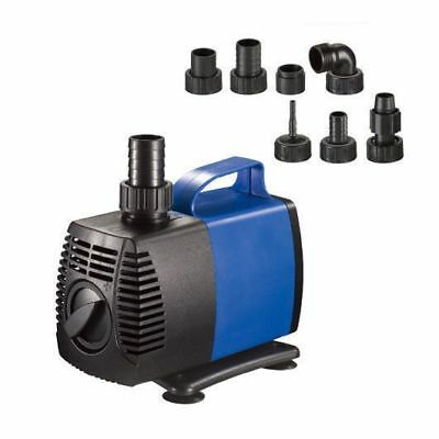 1450 GPH Submersible Water Pump Fish Tank Pond Fountain Pool Aquarium Hydroponic
