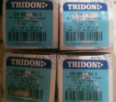 Tridon Stainless Steel Hose Clamp 40 Pcs / 4 Boxes Of 10. 620-008