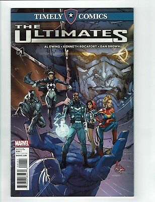 Timely Comics: The Ultimates #1 (Marvel, 2016)