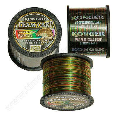 Sea Fishing Line Rainbow Strong 1000m 20lb 30lb Carp Pike Barbel Coarse Cod Ray