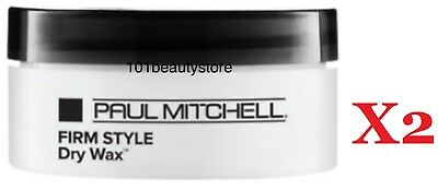 Paul Mitchell Firm Style Dry Wax 1.8 oz PACK OF 2 *Free shipping & Same Day Ship