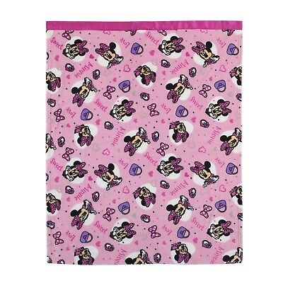 Disney Minnie Mouse 40x50 Toddler Blanket - Fits a toddler bed