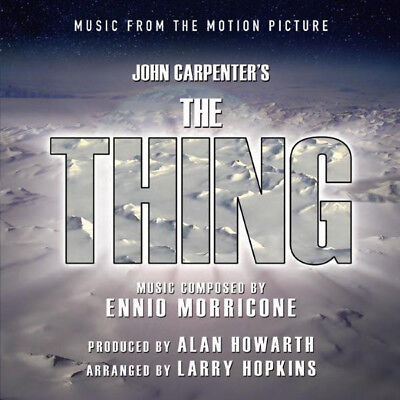 THE THING / Ennio Morricone CD OST