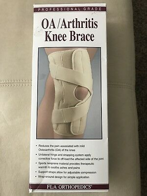4c0ccadbf2 FLA Orthopedics OA Arthritis Knee Support Brace Medial Left Lateral Right