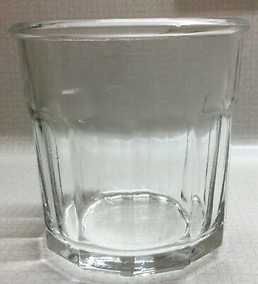 Rare Vintage Pasari Indonesia Water Drinking Whisky Glass Old Bar Style 12 Ounce