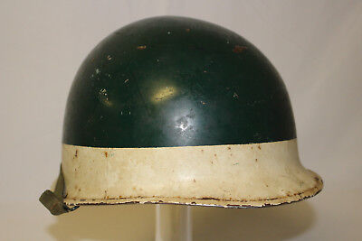 Wwii Us Army Painted M1 Combat Helmet