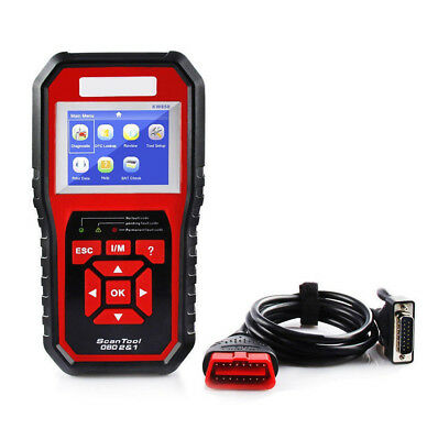 OBDII Scan Tool Check Engine Auto Car Code Reader EOBD Diagnostic Scanners