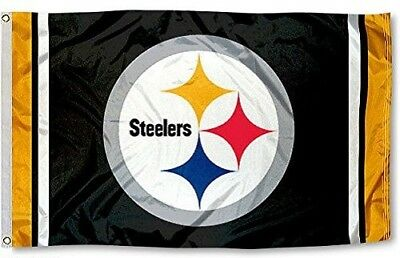 NEW Pittsburgh Steelers Flag Large 3'X5' NFL FREE SHIPPING