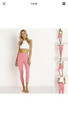 4598a9e706aed BEYOND YOGA Spacedye High Rise Legging Heatwave Rainwash PINK SM ($97)