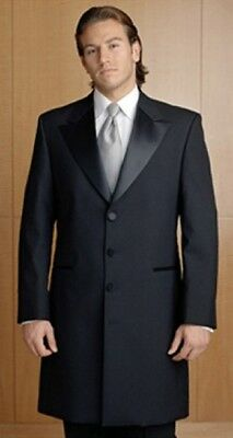 Men's - After Six 3/4 Victorian Frock Tuxedo Coat - Minor Damage - Stage/Costume
