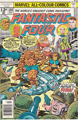Marvel Fantastic Four, #180, 1977, Stan Lee, Jack Kirby, Joe Sinnott