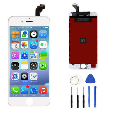 For iPhone 6 New LCD Digitizer Glass Screen Replacement - Genuine OEM IC - White