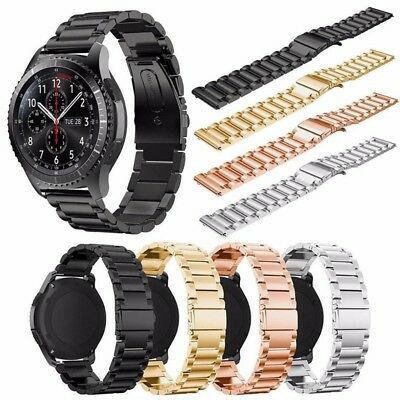Stainless Steel Watch Band Strap Bracelet for Samsung Gear S3 Frontier/Classic A