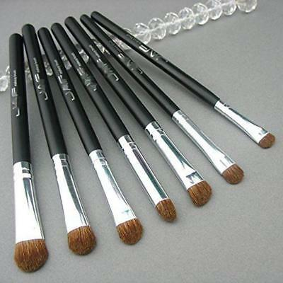 7 Professional Eyeshadow Blending Pencil Eye Brushes Set Makeup Tool Cosmetic FI