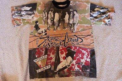 WORLDCLASS . SKATEt Shirt - 2 side  VINTAGE '80s!!!!! Very Rare and wonderful!!!